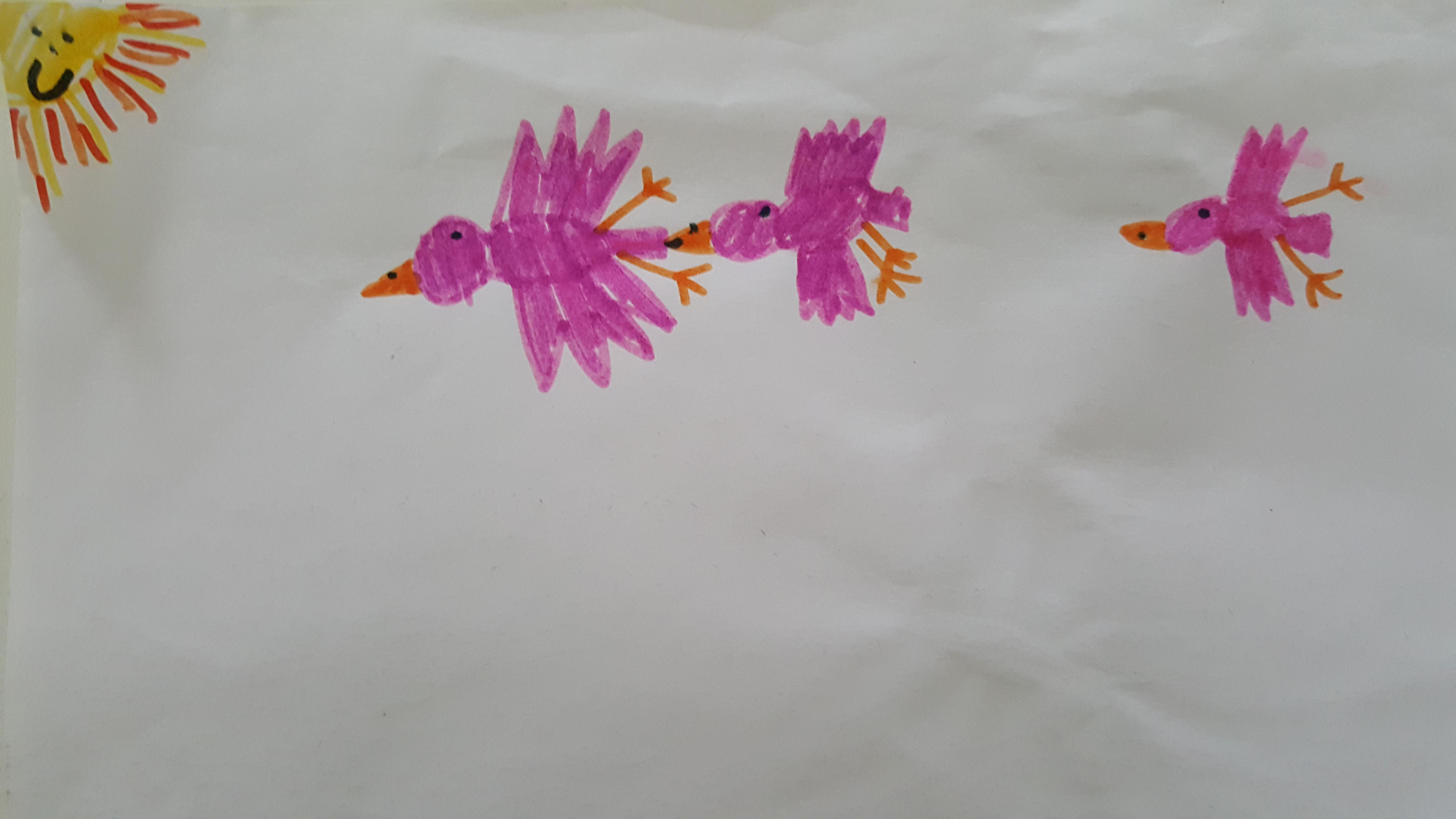 Kindertekeningen Gastouderbureau Maki